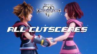 Kingdom Hearts 3 Re Mind - All Cutscenes