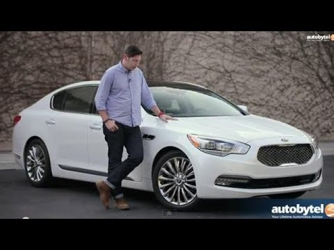 2015 Kia K900 Test Drive & Luxury Car Video Review