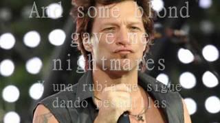 "Video thumbnail of ""Bon Jovi- Bed of roses (sub esp-ing)"""