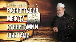 Али Джума - Разногласия между суннитами и шиитами