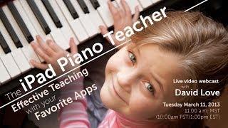 iPad Piano Teacher [54:50]