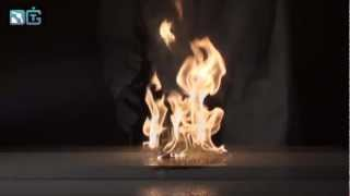 Explosion of a mixture of chromium oxide(VI)-acetone