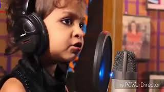 "Dil hai chota sa choti si Asha Take a lovely song of 3 year old baby girl. ""K,Jadhav"""