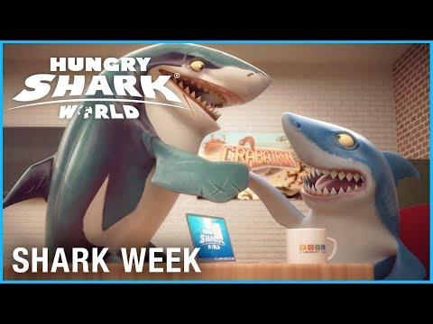 Hungry Shark World: Meet the Sharks | Shark Week | Ubisoft [NA] thumbnail