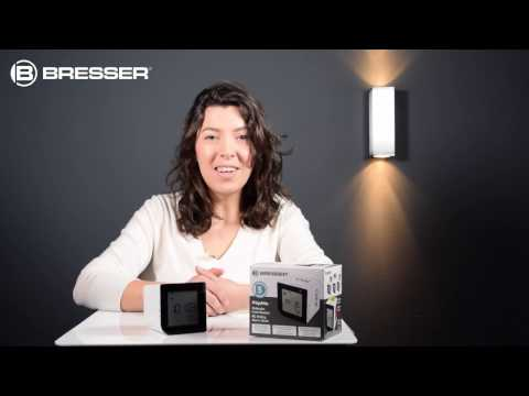 BRESSER FlipMe Funk-Wecker: Inbetriebnahme und Weckzeiteinstellung