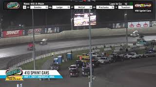 Knoxville Raceway 410 Highlights - May 1, 2021