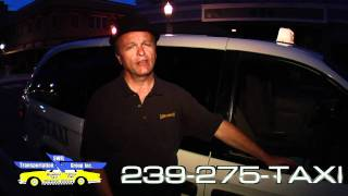 Need a Ride Tonight Call 239-275-TAXI Blue Bird Yellow Cab Fort Myers FL