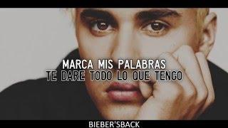 Justin Bieber - Mark My Words [Traducida al Español]