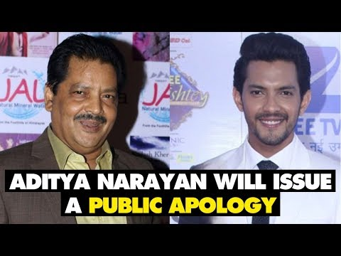 Udit Narayan Will Make Aditya Narayan Issue A Public Apology | SpotboyE (видео)