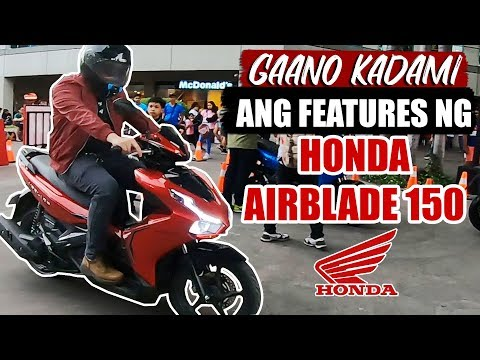 HONDA AIRBLADE 150 REVIEW | HONDA AIRBLADE 150 TEST RIDE