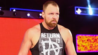 Dean Ambrose Returns To WWE Raw JACKED!