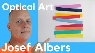 Josef Albers Interaction Of Color – Op Art And Relative Color
