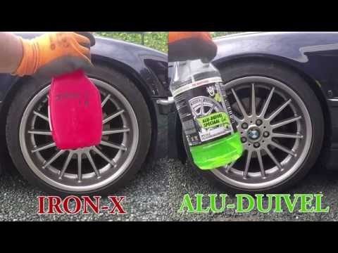 Velgenreiniger Iron-X vs Alu-Duivel
