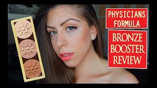 PHYSICIANS FORMULA BRONZE BOOSTER REVIEW & DEMO