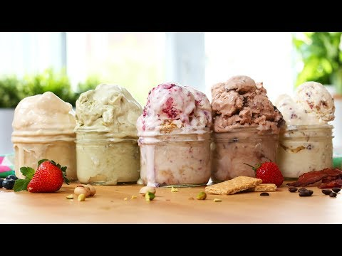 Video 5 EASY Ice Cream Recipes! | SOOOOO GOOD!!!