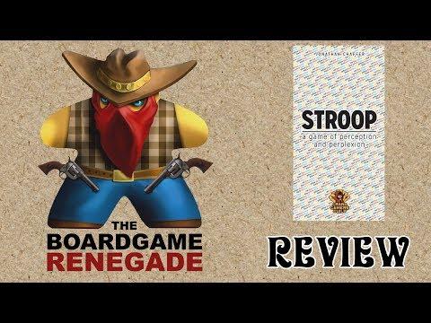 Stroop Game Review