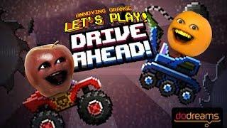 Annoying Orange Plays   Drive Ahead Vs Midget Apple
