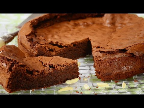 Video Chocolate Almond Torte Recipe Demonstration - Joyofbaking.com
