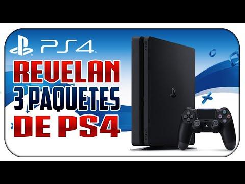 SONY REVELA LOS NUEVOS PAQUETES PARA PS4 SLIM!