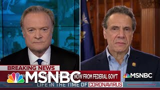 Gov. Cuomo: Coronavirus Pandemic Is 'A Full Bown, Nationwide Crisis' | The Last Word | MSNBC