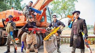 LTT Nerf War :  Special Mission Couple SEAL X Warriors Nerf Guns Fight Criminal Group Dr Lee Danger