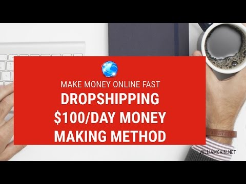 How To Make Money Online FAST 2017 | $100+/day Money Making Method | Dropshipping/Reselling