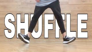 HOW TO SHUFFLE DANCE   TUTORIAL   BASIC STEPS   ШАФЛ   2018