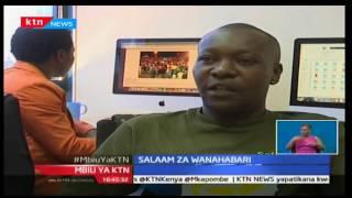 Mbiu ya KTN: Salaam za mwaka mpya za wanahabari wa kampuni ya Standard Group, Januari 2 2017