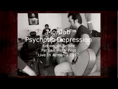 Mordab - Psychotic Depression  - Rehearsal Before ( Persian Metal Fest Live In Armenia 2012 )