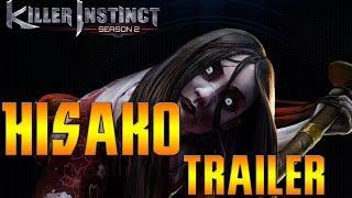 Killer Instinct Season 2 Hisako Trailer   Cinder Teaser   HKsmash Facecam Reaction