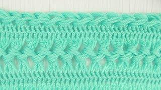 Hairpin Lace Joining & Finishing Crochet Tutorial