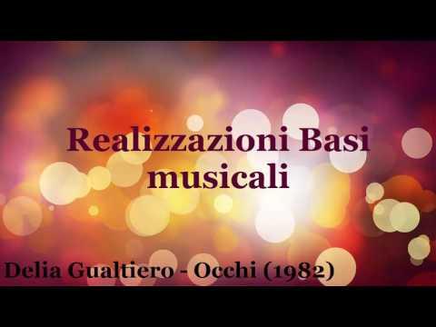 Delia Gualtiero - Occhi (1982) base musicale Karaoke