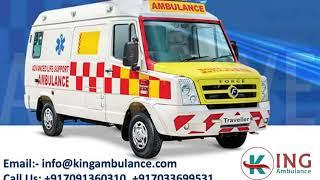 King Ambulance Service in Gandhi Maidan and Mahendru Patna at Low-Fare