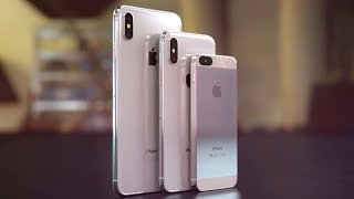 Apple выпустит 3 новых iPhone в 2018! iPhone SE2 и Galaxy Note 9. Xiaomi Mi Band 3 и Redmi S2