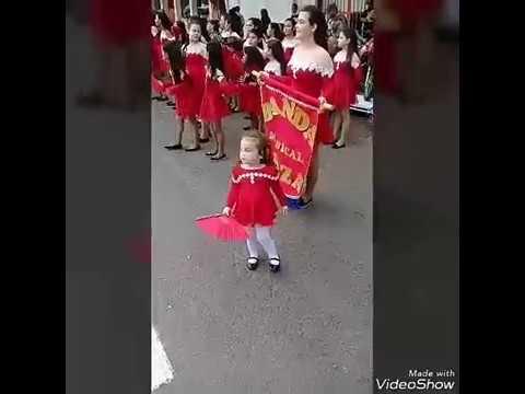 Desfile en Barra Do Quarai 07/09/2017