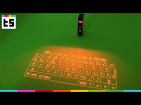 Test: Celluon Epic – Tastatur mit Laserprojektion
