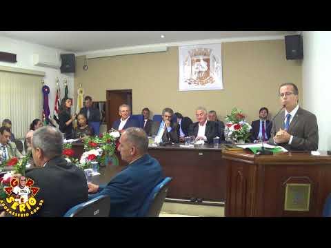 Deputado Estadual Marcio Camargo recebe o Titulo de Cidadão em Sessão Solene 2018