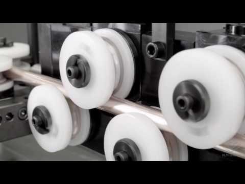 3-RUNNER - Verarbeitungssystem für das Richten, Schneiden und Endstückbearbeitung von Rohren von einer Spule   BLM GROUP