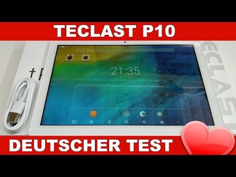 Teclast P10 Test: Was kann das Billig Tablet? (Deutsch)