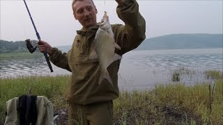 Рыбалка на красноярском море летом 2020