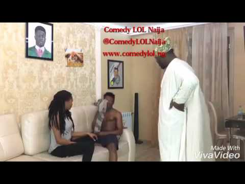 The Make out. Ade and Crazeclown. Comedy LOL Naija, www.comedylol.ng