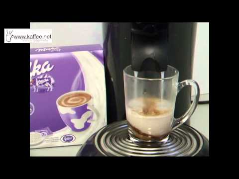 Milka Kakao, die Kakao-Pads für Padmaschinen wie z.b. Senseo
