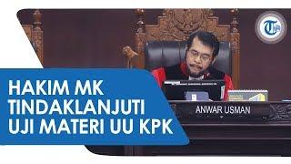 Hakim Konstitusi Menindaklanjuti Permohonan Uji Materi UU KPK, Bakal Dibahas dalam Forum RPH