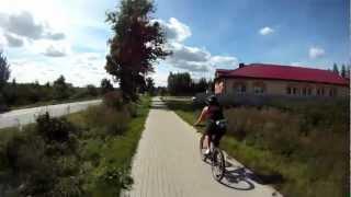 preview picture of video 'Pętla Gdańsk Południe-Otomin-Kolbudy-Pręgowo-Bielkówko-Straszyn-Jankowo-Gdańsk Południe'