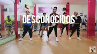 Mau y Ricky, Manuel Turizo, Camilo - Desconocidos (Choreography) ZUMBA || At D'One Studio Balikpapan