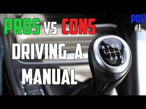 Video Pros vs Cons Driving A Manual-Vlog Episode 1