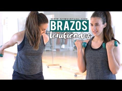 Tonificar brazos | Ejercicios para brazos, bíceps y tríceps 8 minutos