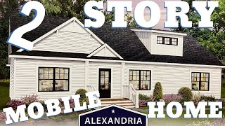Incredible 2 story mobile home!! I've never been in a home this nice! Mobile Home Masters Tour