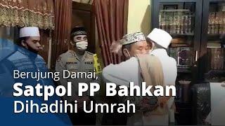 Insiden Habib Umar Assegaf Berakhir Damai, Saling Berpelukan, Bahkan Satpol PP Dihadiahi Umrah