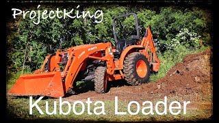 Compact Kubota Tractor Loader Demo